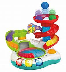 bright starts spin n slide ball popper toy import it all