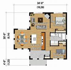 850 sq ft house plan contemporary style house plan 2 beds 1 baths 850 sq ft