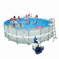 Frame Pool Rund - frame pool komplettset 549 x 132 rund 26423 liter inkl