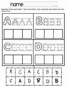 cut and paste letter worksheets for kindergarten 23464 pin on kinderland collaborative
