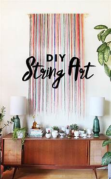 diy string wall art the sweet escape creative studio