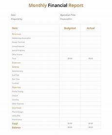 monthly report templates pdf word adobe illustrator apple pages sle templates