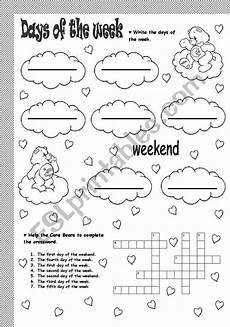 free worksheets days of the week 18835 days of the week esl worksheet by soledad grosso