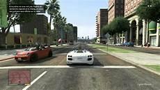 Grand Theft Auto V Course Poursuite Avec La