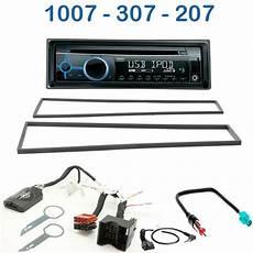 Autoradio 1 Din Peugeot 207 307 1007 Avec Cd Usb Mp3