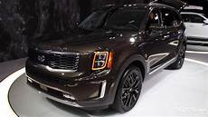 2020 kia telluride up look 2019 naias
