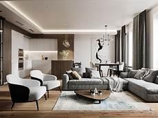 controsoffitto design apartment in minimalist style on behance