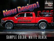 Dodge Ram Decal In Stock Ready To Ship  WV Classic Car