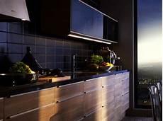 credence carrelage noir cuisine les mod 232 les top d 233 co chic d ikea home cuisine noir ik 233 a et plan