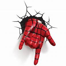 com 3d light fx marvel spiderman 3d deco led