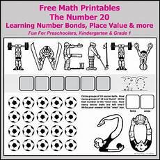 number bonds to 20 free math worksheets number bonds ten frames and math