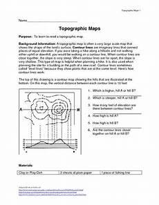 earth science topographic map worksheet 2 answer key 13340 topographic maps lesson plan lesson planet topographic map map worksheets topographic map