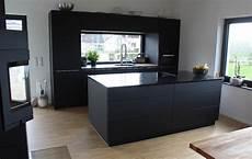 küche schwarz matt schreinerei hagg k 252 chen nach ma 223