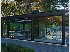 Glass House in the Garden   Modern   Exterior   Boston