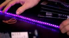 phobya uv led strips unboxing look linus tech tips