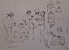 132 Sketsa Gambar Ilustrasi Pasar Tradisional Gudangsket