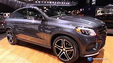 mercedes gle amg 4401 2016 mercedes gle class gle 450 amg coupe exterior and interior walkaround 2015 la auto