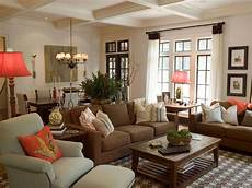 Home Decor Ideas With Brown Couches by Lovely Living Room With Brown Couches Decorating Coastal