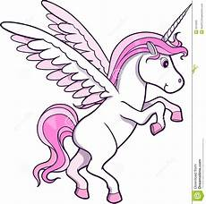 Malvorlagen Wings Unicorn Unicorn Pegasus Vector Stock Photography Image 6419092