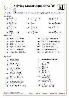 algebra worksheets gcse 8417 solving equations maths worksheet algebra worksheets solving linear equations solving equations