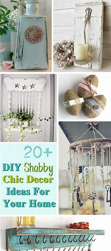 Home Decor Ideas Diy For by 20 Diy Shabby Chic Decor Ideas For Your Home Noted List