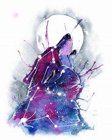 Wallpaper Galaxy Aesthetic Wolf by Galaxy Wolf Wallpaper 26 Images On Genchi Info