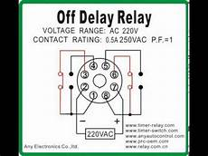 off delay relay timer switch com youtube