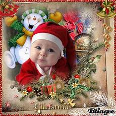 christmas baby picture 127024021 blingee com