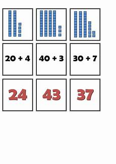 place value matching cards by yarwood10 teaching