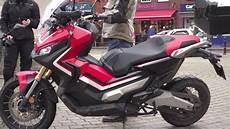 honda x adv scooter review visordown com youtube