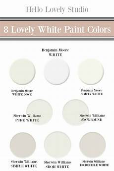 8 beautiful white paint colors finds hello lovely