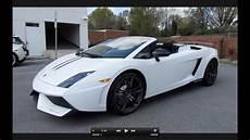 2012 Lamborghini Gallardo Spyder Performante Start Up