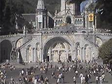 lourdes web lourdes live feed rosary basilica