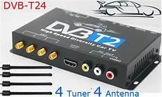 hd dvb t2 receiver dvb t24 dvb t2 tv receiver 4 tuner 4 antenna usb dvb t