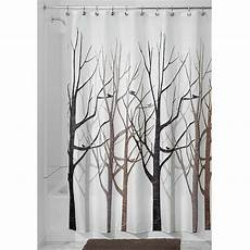 Brown Tree Shower Curtain