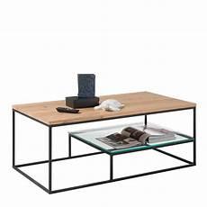 couchtisch schwarz glas 110x42x60 couchtisch aus eiche glas mit b 252 gelgestell in