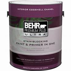behr premium plus ultra 1 gal ultra pure white eggshell enamel interior paint and primer in one