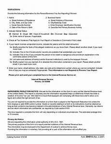 form 3949 a information referral