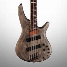 Ibanez Srff805 Fan Fret Electric Bass 5 String Black