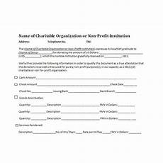charitable donation receipts requirements as supporting documents for tax deductible donations