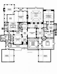 spanish hacienda house plans courtyard mediterranean style house plans hacienda spanish