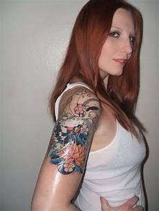 Alternative Tattoos Womens Sleeve Tattoos