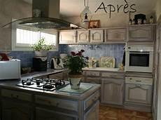 peinture meuble de cuisine relooking meubles de cuisine et plan de travail luc