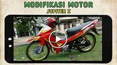 Modifikasi Motor Jupiter Z Burung Hantu Modifikasi