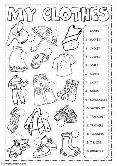 the clothes english as a second language esl worksheet you can do the exercises online or