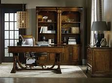 executive home office furniture sets tynecastle brown writing home office set from hooker