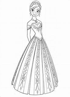 Malvorlagen Elsa B Eisprinzessin Elsa Malvorlage Disney Prinzessin