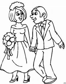 Brautpaar Ausmalbilder Malvorlagen Junges Brautpaar Ausmalbild Malvorlage Gemischt