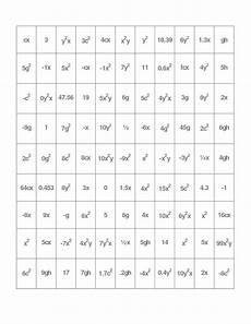 algebra worksheets combining like terms 8345 combining like terms activity docx math school combining like terms algebraic expressions