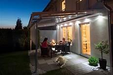 Terrasse Led Beleuchtung - terrassendach led beleuchtung schatteria ihr